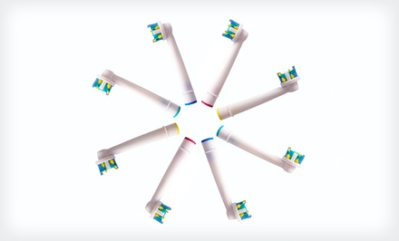 Eight-Pack of Replacement Toothbrush Heads