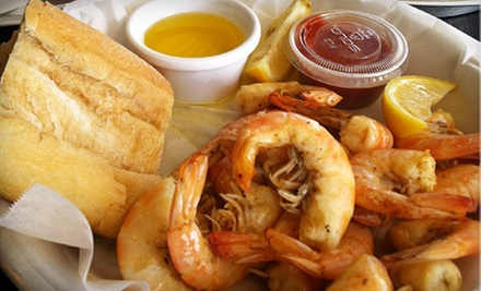 $10 for $20 Worth of Seafood and Drinks at Ugies Smokin' Good Seafood