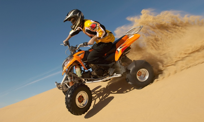 sahara Racing - Sharjah: Quad Bike Rental for Adults & Children starting from AED 19