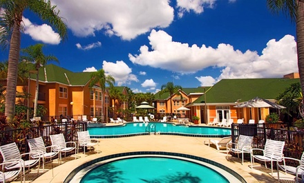 Stay at Palms Hotel and Villas in Kissimmee, FL. Dates Available into May.