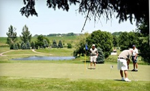 18-Hole Round of Golf for Two or Four with Cart Rental and Pizza at Rocky Run Golf Course (Up to 56% Off)