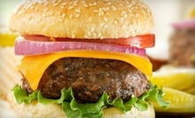 Burger Meal with Appetizers for Two or Four at Martini's Weymouth (Up to 52% Off)