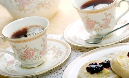 $22 for The Harbour Afternoon Tea for Two at The Tea Room ($43.90 Value)