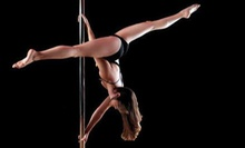 Four or Eight Pole-Dancing or Aerial-Yoga Classes at Allure Dance Studio (Up to 76% Off)