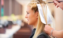 Haircut with Option for Partial-Foil, Base, Full-Foil, or Ombre Color at Jae D's Salon and Spa (Up to 60% Off)
