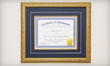 Custom Framing and Printing Services at G & K Picture Frame Canada (Up to 71% Off). Two Options Available.