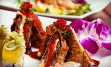 $25 for $50 Worth of Sushi and Japanese Fusion Food for Two or More at XS