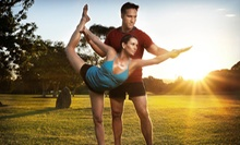 $29 for One Month of Unlimited Hot-Yoga Classes at Fire Shaper ($180 Value)