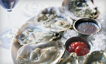 One Dozen or Two Dozen Oysters or Clams with Options for Soup or Salad at The Ice House Cafe (Up to 53% Off)
