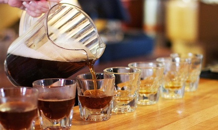 Beer-Flight Package for Two or Four at THAT Brewery & Pub (Up to 52% Off)