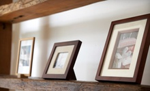 Custom and DIY Framing at Framers Workshop (Up to 60% Off). Two Options Available.