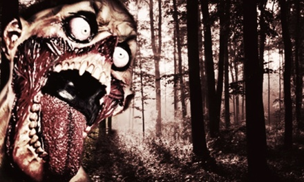 Interactive Zombie Halloween Hayride for Two, Five, or Ten at Vintage Paintball Park (51% Off)