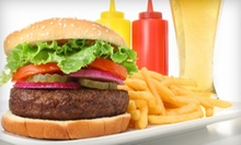 $10 for $20 Worth of Sandwiches, Burgers, and Drinks at 3 Sheets Pub