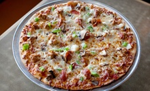 Pizza Meal with Drinks for Two or Four at Jerseys Pizza and Grill in Hoffman Estates (Up to 60% Off)