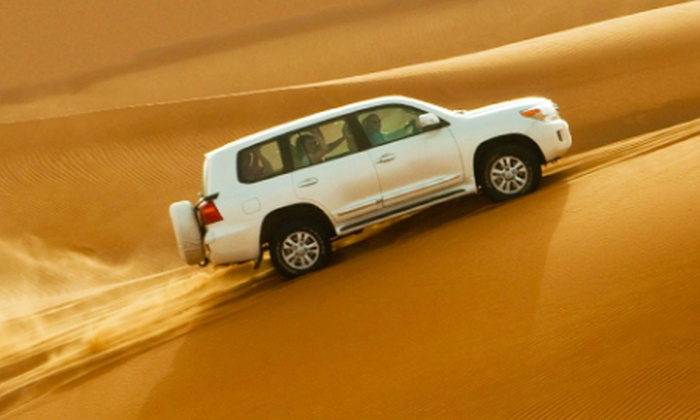 Arabian Desert Tours - Multiple Locations: Desert Safari for up to 6 People including Dune Bashing, BBQ Buffet & more starting from AED 98 [Up to 62% off]
