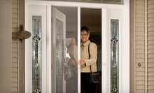 $25 for $100 Toward a Retractable Screen Door and Installation from EJ's Home Improvements, Inc.