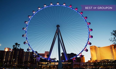 VIP Ride Package for Two with Open Bar Options at The High Roller at the LINQ (Up to 44% Off)