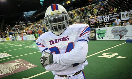 Florida Tarpons Indoor Football Game for Two or Four with On-Field National Anthem Experience (Up to 51% Off)