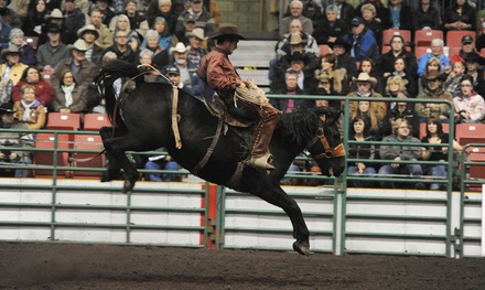 Heritage Ranch Rodeo at Edmonton EXPO Centre on November 5 or 6 at 2 p.m. (50% Off)