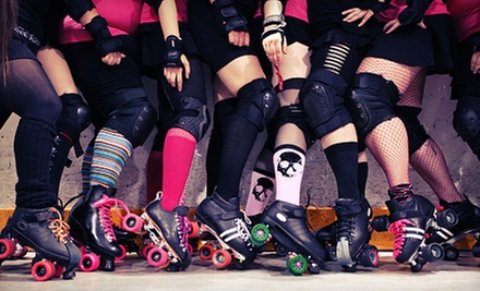 $10 for Roller-Derby Bout for Two on May 26 or June 16 at Skates Roller Skating Entertainment Center (Up to $20 Value)
