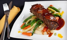 Five-Course Dinner for Two or Four at Third and Main: Historic Restaurant and Tavern (Up to 52% Off)