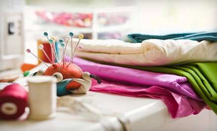 Sewing Class for One, Two, or Up to Six at Winnies Fashion Design (Up to 93% Off)