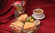 Breakfast, Lunch, and Café Drinks at Comfort Zone Cafe (Half Off). Two Options Available.