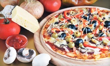 Pizza, Wings, and Italian Cuisine at NY Pizza Station (Half Off). Two Options Available.