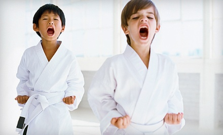 6 or 12 Kids' Karate Classes at Kickaro's Martial Arts & Fitness (Up to 81% Off)