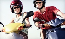 Port Canaveral Scooter Tour for Two or Four from Beach Classic Scooter (Half Off)