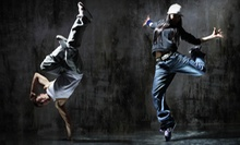 5 or 10 Break-Dance and Fitness Classes at Massive Monkees (Up to 55% Off)