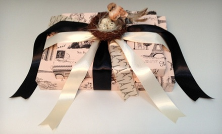 $10 for $20 Worth of Creative Professional Gift Wrapping at Thats a Wrap!