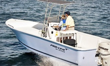Four-, Six-, or Eight-Hour Inshore Fishing Trip for Two with Equipment and Drinks from Atlantis V Charters (Half Off)
