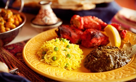 Fine Indian Cusine and Drinks for Two or Four at Tandoori's Royal Indian Cuisine (Up to 53% Off)