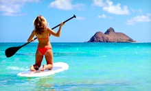 Paddleboard Rental or Paddleboarding Class for Two from North Shore SUP (Up to 51% Off). Four Options Available.