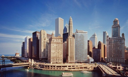 groupon daily deal - Stay at River Hotel in Chicago, with Dates into May