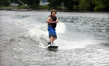 Half-Day Wakeboarding-Lesson Package for One, Two, or Four at Raging Buffalo Wakeboard School (Up to 55% Off)