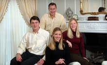 "$99 for a One-Hour Photo-Shoot Package with One 8""x10"" and Two 5""x7"" Prints from David Simm Photography ($410 Value)"
