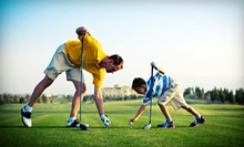 $39 for a Comprehensive Junior Golf for Parents and Children Lesson at Quick Fix Golf ($99 Value)