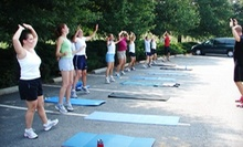 One or Three Months of Unlimited Coed Boot-Camp Classes from Custom Fitness Concepts (Up to 76% Off)