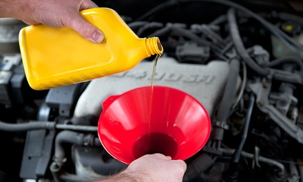 Oil Change with Optional Tire Rotation and Brake Inspection at Precision Auto Masters (Up to 70% Off)