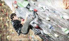 Month of Rock Climbing for One or Two or Two Days of Climbing for Two at Thresh Hold Climbing + Fitness (Up to 81% Off)