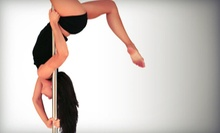 $29 for Four Beginners' Pole-Dancing Classes at Polesque Fitness ($70 Value)