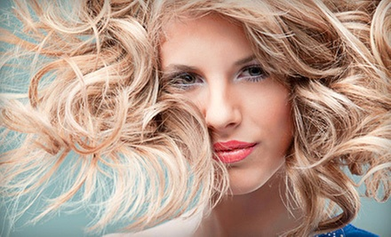 Haircut and Deep-Conditioning Treatment or Cut and Root Touch-Up at Hair by Jennifer at Calipso's Salon (Up to 58% Off)