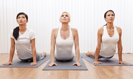 $39 for One Month of Unlimited Hot-Yoga Classes at Fahrenheit Yoga Studio (Up to $145 Value)