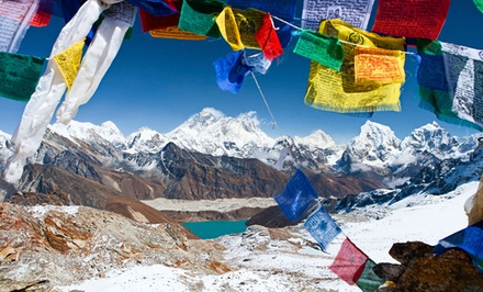 17-Day Guided Mount Everest Trek from Bohemian Tours. Price/Person Based on Double Occupancy.