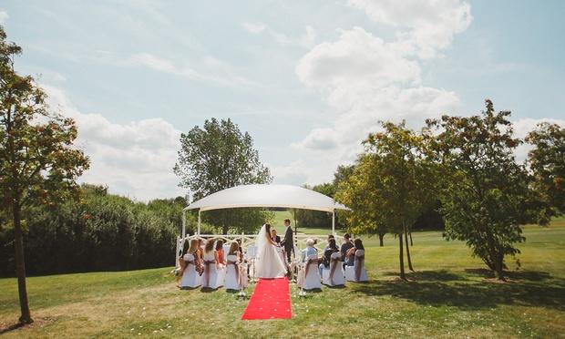 Milton hill wedding