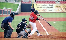 Grand Prairie AirHogs Baseball Game for Two, Four, or Six at QuikTrip Park (Up to 58% Off)