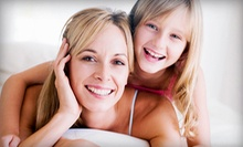 Dental Exam, X-rays, and Cleaning or In-Office Teeth Whitening at SoCalSmiles Dental Office (Up to 88% Off)