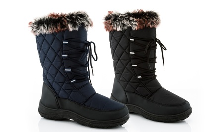 Rasolli Women's Snow Tec Boots